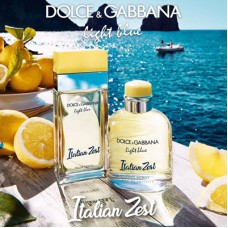 Light Blue Italian Zest – новые ароматы Dolce & Gabbana