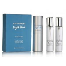 "Dolce And Gabbana ""Light Blue"", 3х20 ml"
