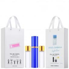 "Набор с феромонами Dolce and Gabbana ""Light Blue"", 3х15ml"