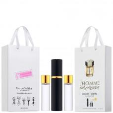 """Набор с феромонами Yves Saint Laurent """"L`Homme"""", 3х15ml"""