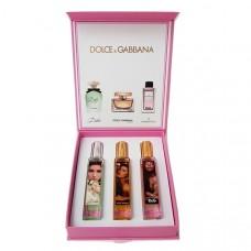 Подарочный набор Dolce & Gabbana, 3x20 ml