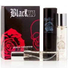 "Paco Rabanne ""Black XS L'Exces"", 3x20 ml"