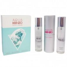 "Kenzo ""Aqua pour Femme"", 3x20 ml"