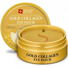 "Гидрогелевые патчи для глаз SNP ""Gold Collagen Eye Patch"""