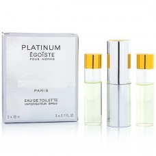 "Chanel ""Egoiste Platinum"", 3x20 ml"