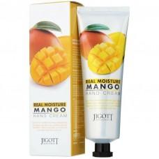 "Крем для рук Jigott ""Real Moisture Mango Hand Cream"", 100ml"