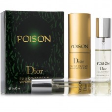 "Christian Dior ""Poison"", 3x20 ml"