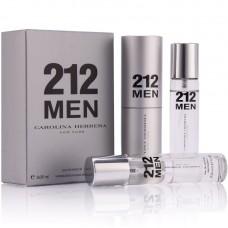 "Carolina Herrera ""212 Men"", 3x20 ml"