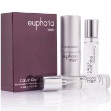 """Calvin Klein """"Euphoria Men"""", 3x20 ml"""
