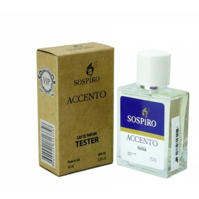 """Тестер Sospiro """"Accento"""", 60 ml"""