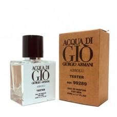 """Тестер Giorgio Armani """"Acqua Di Gio Absolu"""", 50ml"""