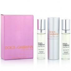 """Dolce And Gabbana """"Rose The One"""", 3x20 ml"""
