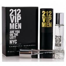 "Carolina Herrera ""212 VIP Men"", 3x20 ml"