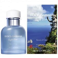"Туалетная вода Dolce and Gabbana ""Light Blue Pour Homme Beauty of Capri"", 125 ml"