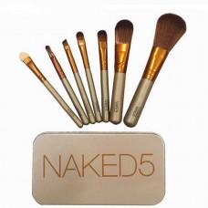 Набор кисточек для макияжа Urban Decay Naked 5, 7 шт.